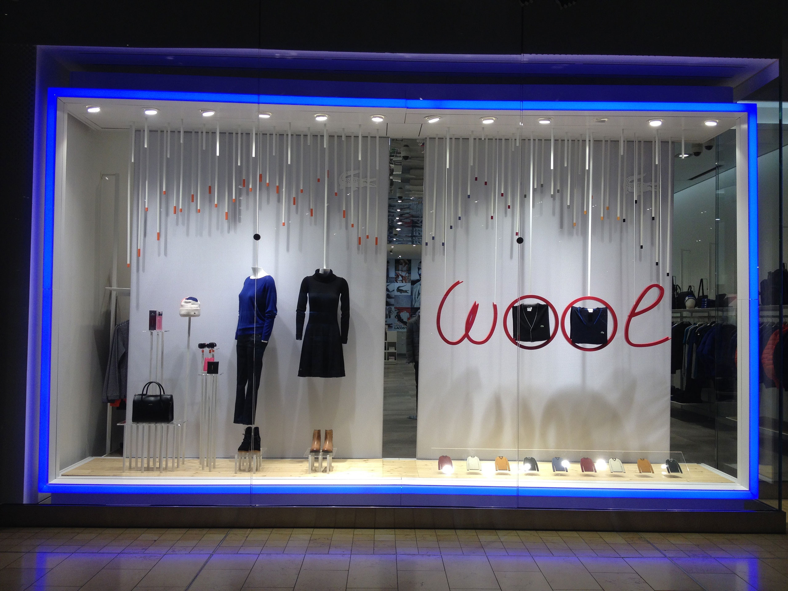 45f96be55 Storefront Lacoste Usa - Toronto - Kiosk Dimensions