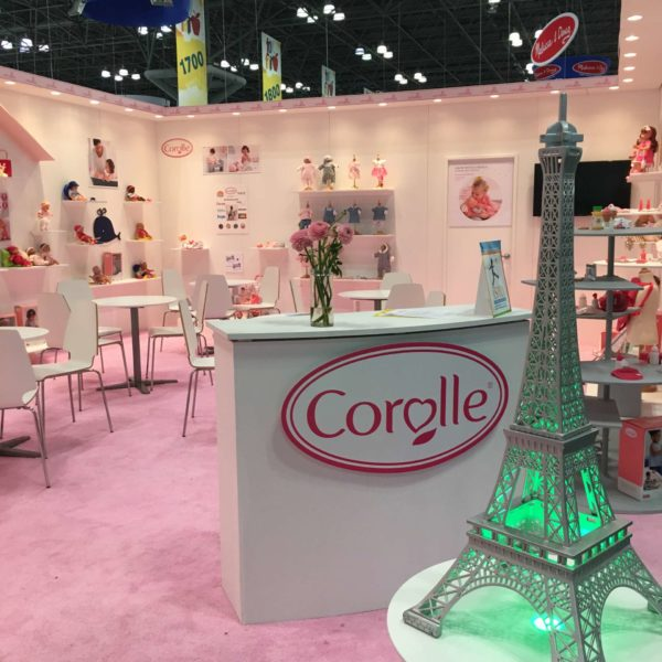 North American International Toy Fair 2018 – Stand Corolle